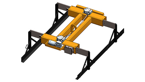 Heavy Duty Motorized Sheet Lifter