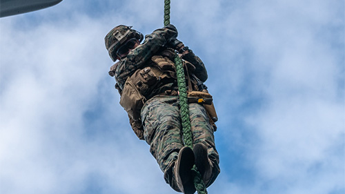 Military & Defense Synthetic Rope