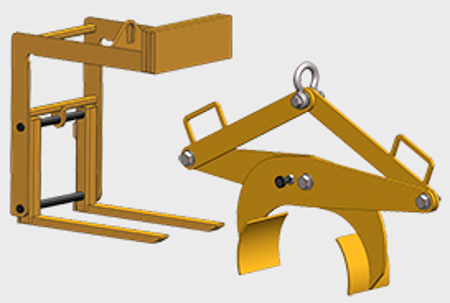 Picture for category Below the Hook Lifting Devices